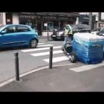 CartCity, innovation TRANSMANUT pour livraisons urbaines, Tire-palette électrique tout terrain.