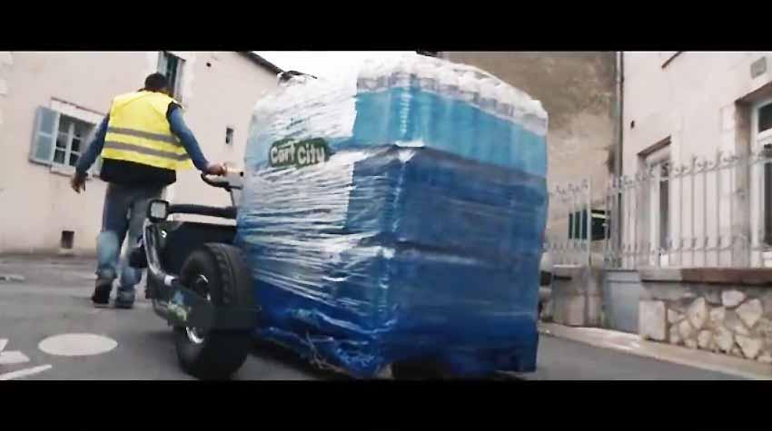 Tire-palette électrique tout terrain CartCity