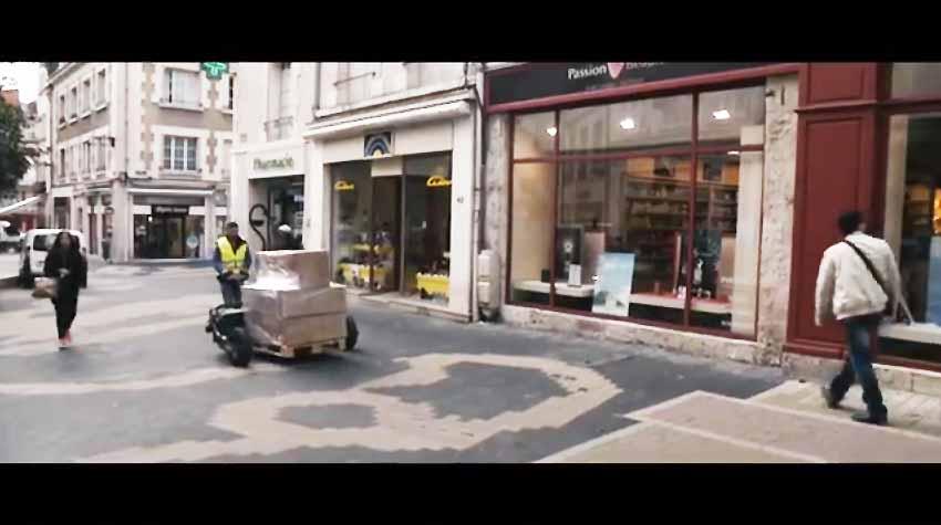 Tire-palette électrique tout terrain CartCity par TRANSMANUT