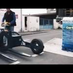 CartCity livraisons urbaines, Tire-palette tout terrain électrique.