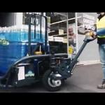 CartCity, innovation TRANSMANUT pour livraisons urbaines, Tire-palette tout terrain électrique.