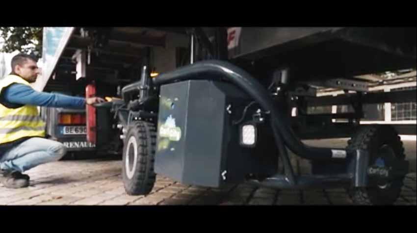 CartCity tire-palette électrique tout terrain