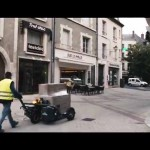 CartCity tire-palette électrique, tire-palette tout terrain urbain, l'allié des livraisons en zones décarbonnées